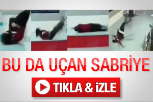 Bu da uçan Sabriye - Video